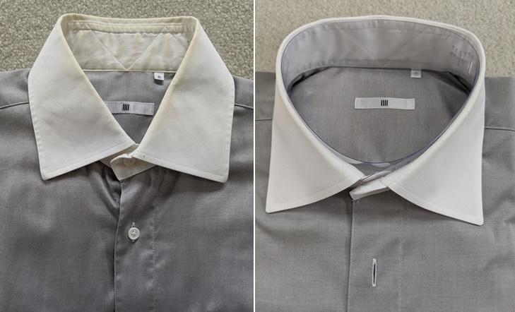 中根クリーニングラボのワイシャツクリーニング