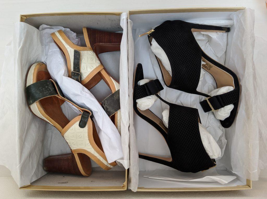 美靴パックの梱包方法