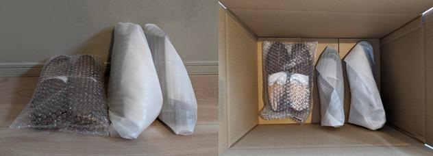 くつリネット出荷時の梱包